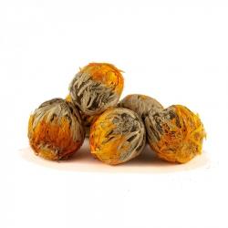 Tea Rose Marigold & Peach