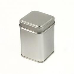 Barattolo Quadrato Argento Da 25 Grammi
