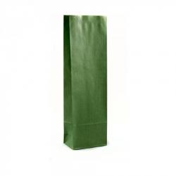 100 Sacchetti Verdi Da 250 Grammi Con Stanghetta Oro