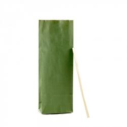 100 Sacchetti Verdi Da 50 Grammi Con Stanghetta Oro