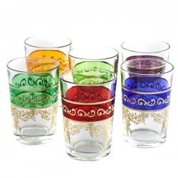 Set Bicchieri Da Tè Dina