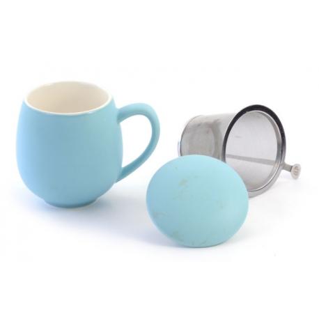 Tisaniera Azzurra Con Filtro Inox