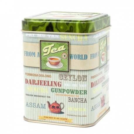 Barattolo Green Tea Da 100 Grammi