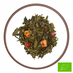 Tè Verde Mela Cannella BIO