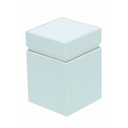 Barattolo Square Bianco