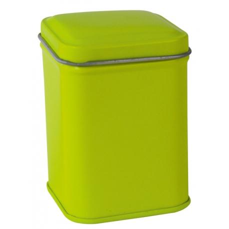 Barattolo Quadrato Verde Da 25 Grammi