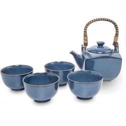 Servizio Da Tè Giapponese Blue