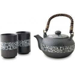 Servizio Giapponese Da Tè Grey