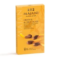 Scorze Di Arancia Candite Ricoperte Di Cioccolato Fondente Extra