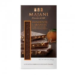 Tavoletta Di Cioccolata Fondente E Arancia 250 Grammi