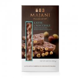 Tavoletta di Cioccolato Al Latte E Nocciole 250 Grammi