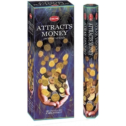 Attracts Money Incenso